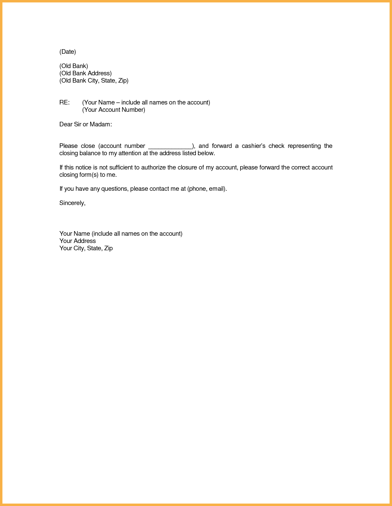 Account paid full letter close bank template closing format sample account paid full letter close bank template closing format sample cover templates spiritdancerdesigns Gallery
