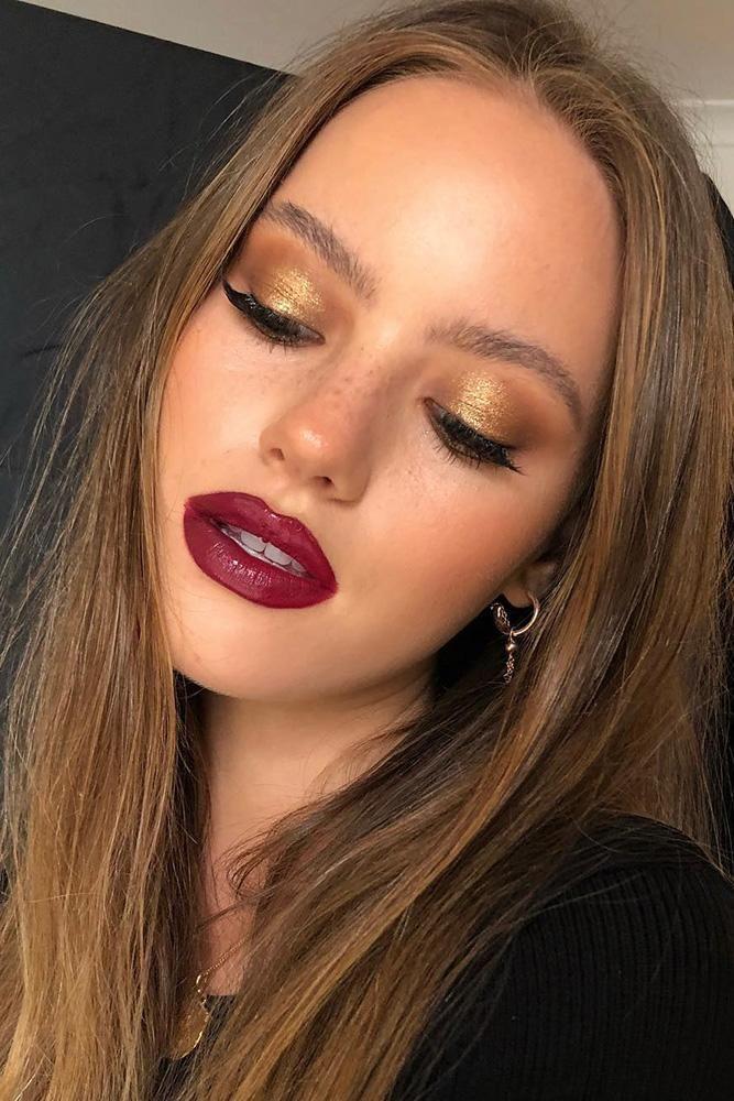 36 Bright Wedding Makeup Ideas For Brunettes | Wedding Forward