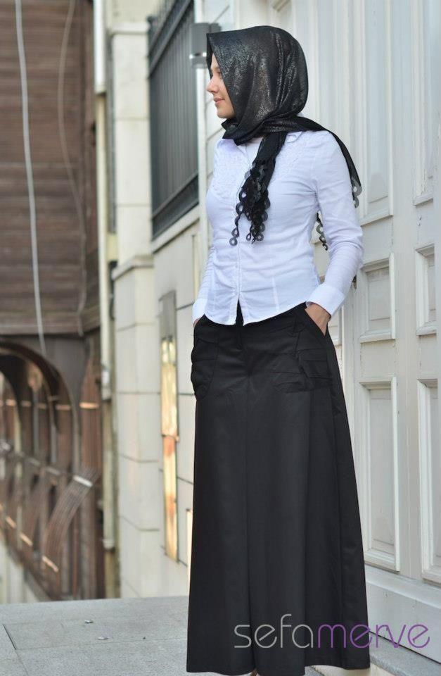 ad1a287b5 ملابس تركية للمحجبات 2014 ملابس محجبات   Interior Design   High ...