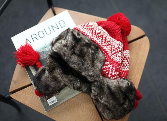 Fur Lined Trapper Hat