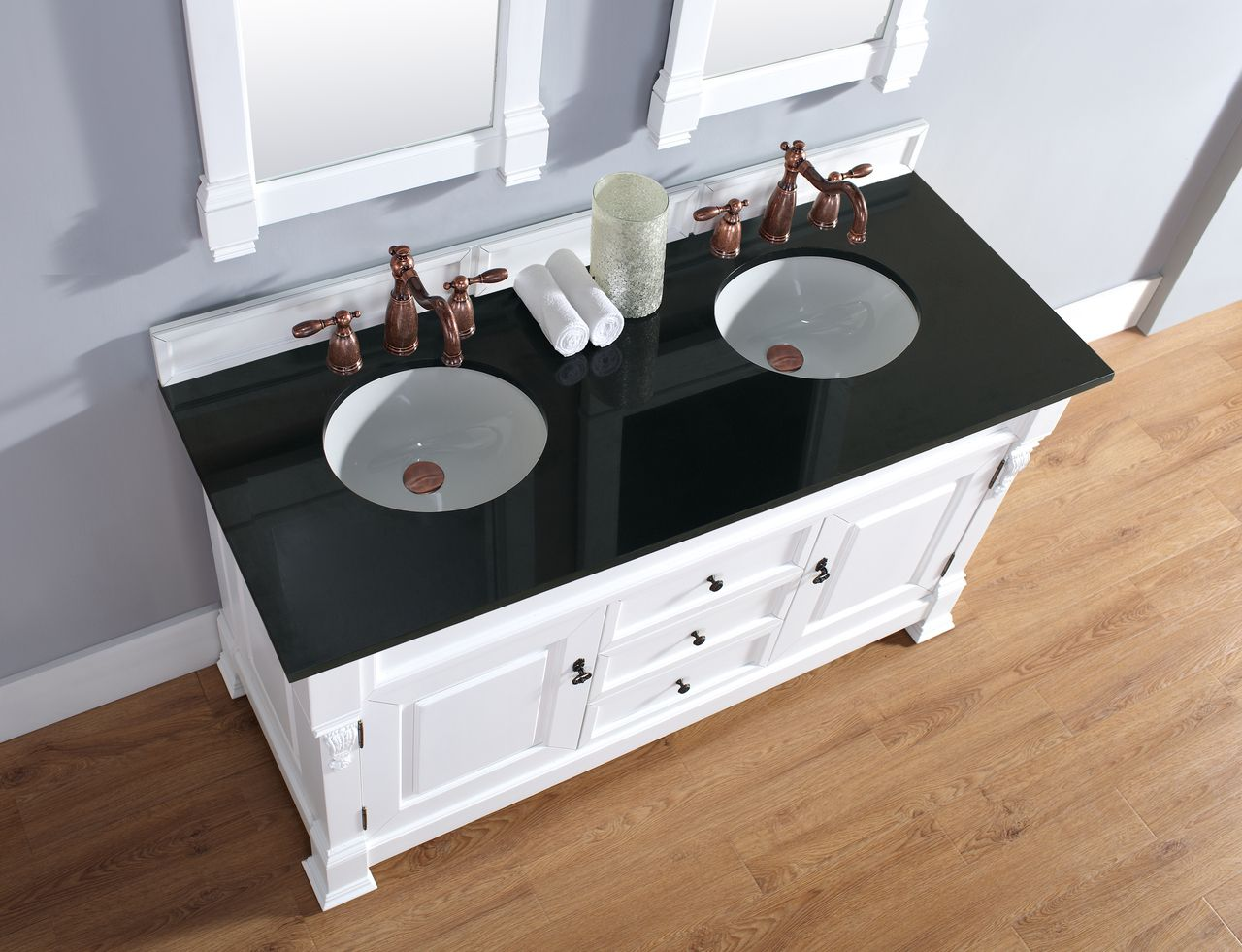 """Bosco Brookfield 60"""" Cottage Double Vanity - Cole Sales Group"""
