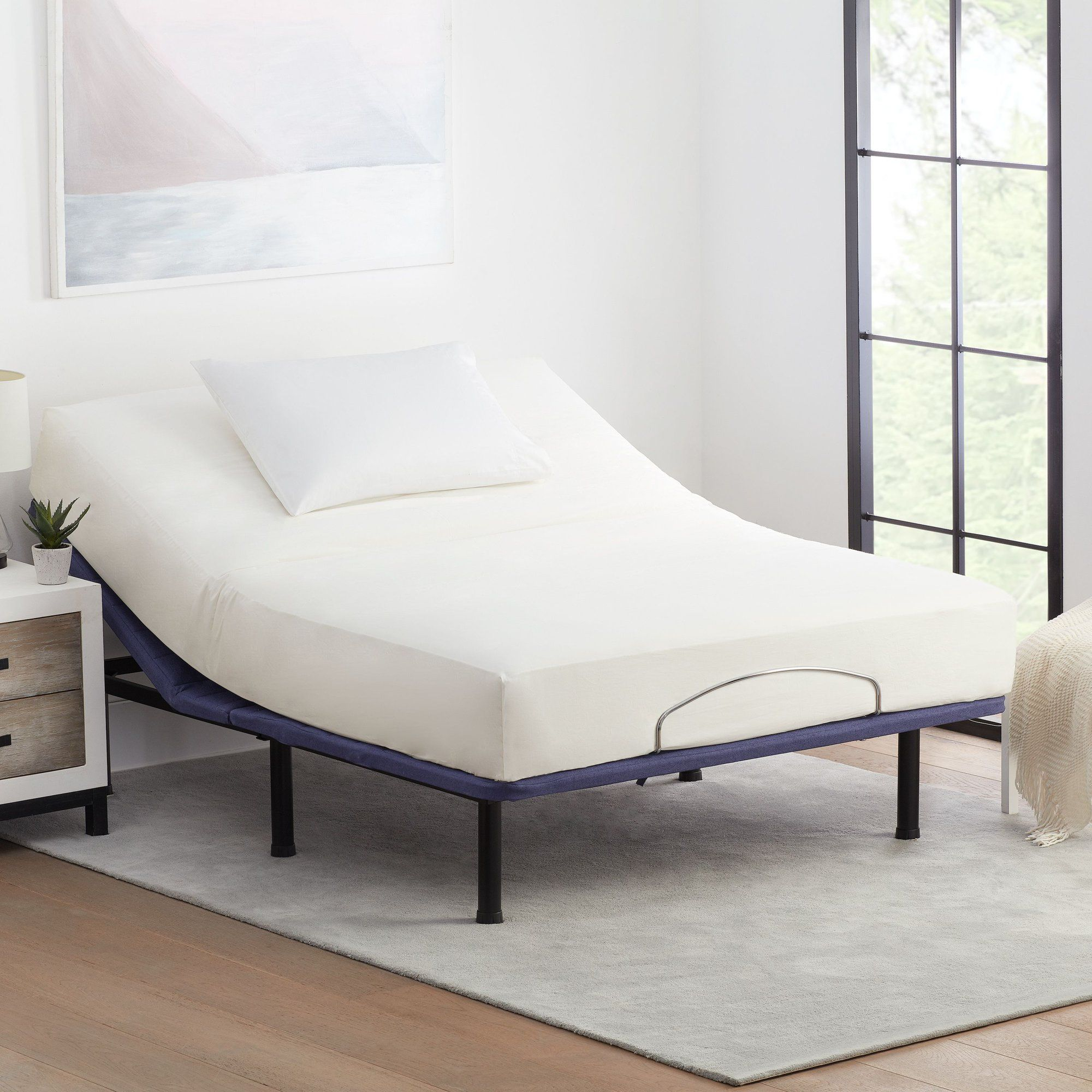 Mainstays Power Adjustable Bed Frame with Wireless Remote