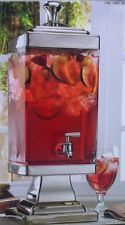 Jar Beverage Dispenser Spigot Stand Ice