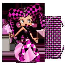 Alfabeto Betty Boop en carnaval. | Oh my Alfabetos!
