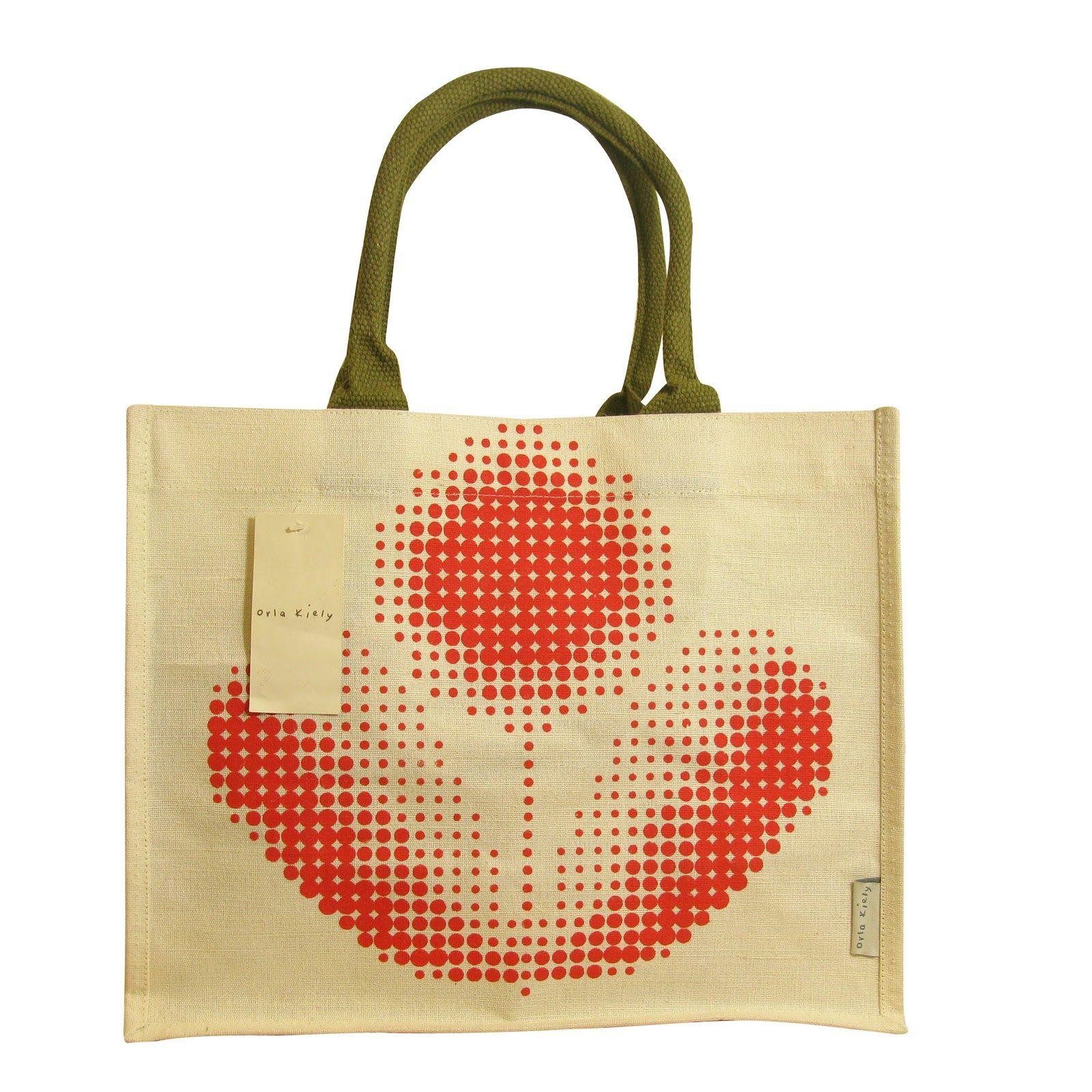 eaa0d709db Orla Kiely Jute Bag Collection for Tesco