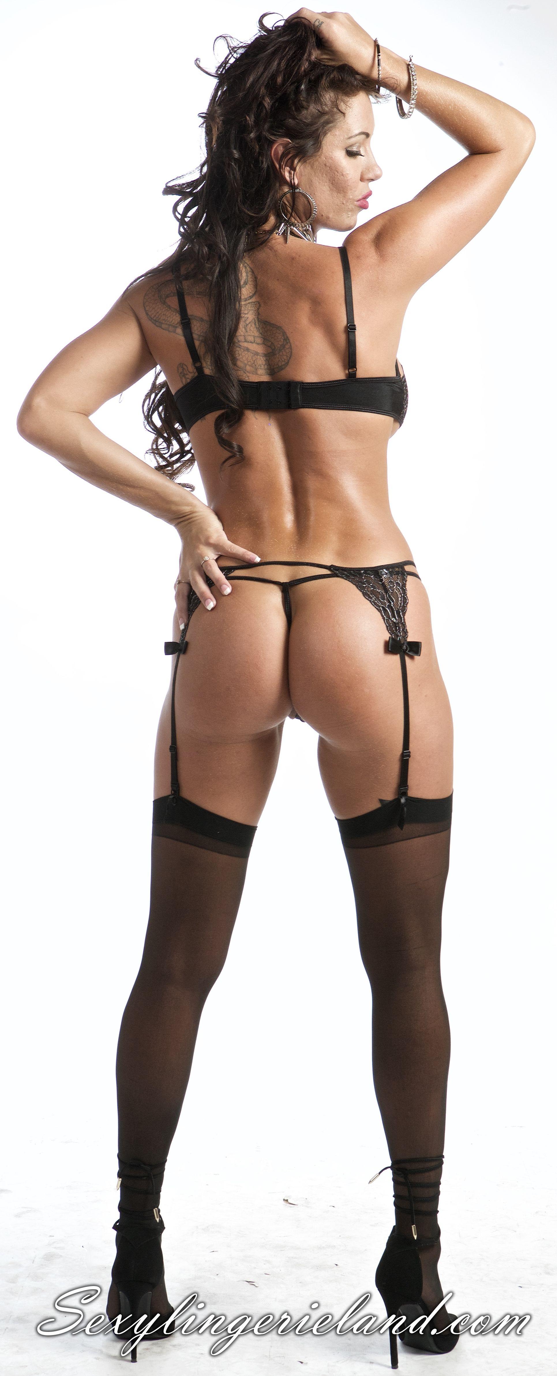 92e9cf120f520 EM-5490 Erotic black lingerie set