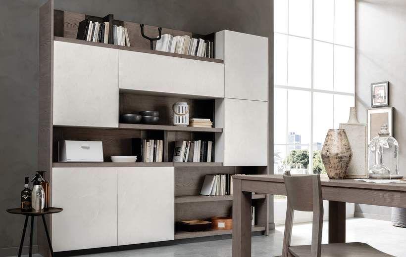 Cucine Moderne - Febal Casa | Kitchen feel | Bookshelves in ...