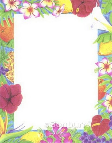 Free Printable Backgrounds Stationery   Luau Printable Design Paper  Stationery 46884 Geographics  Paper Design Template
