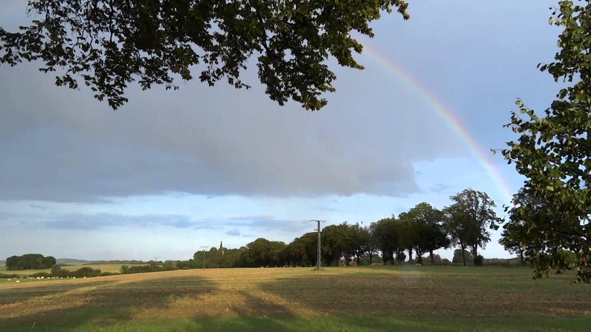 ein kompletter regenbogen, am 21.08.2014 auf der insel rügen :-)
