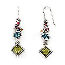 bakasana earrings in silver joy  patricia locke 100