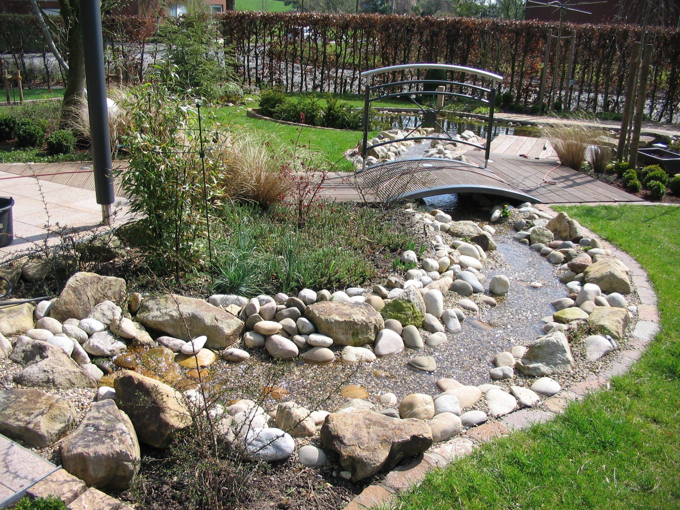 garten - bachlauf | garten | pinterest | bachlauf, gärten und teiche, Garten und bauen