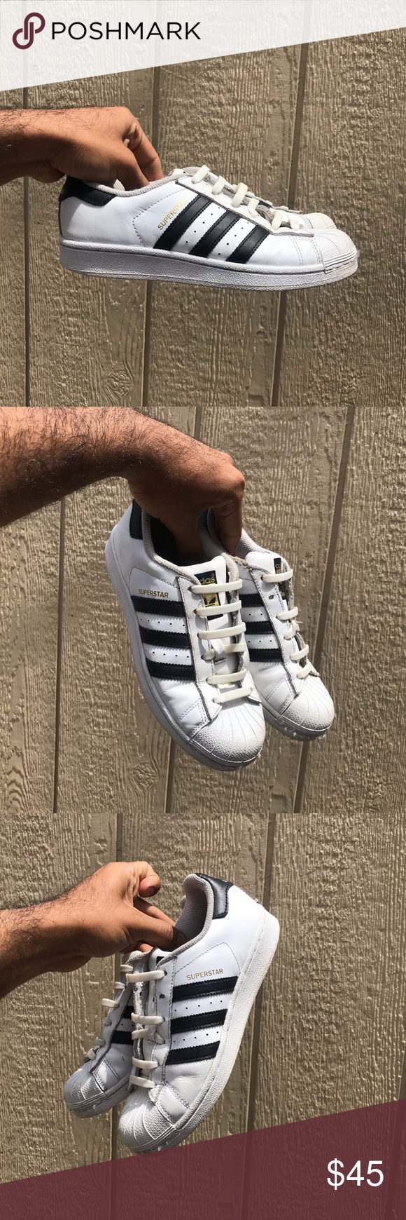 Adidas superstar | Adidas superstar, Shoes sneakers adidas, Shoe laces