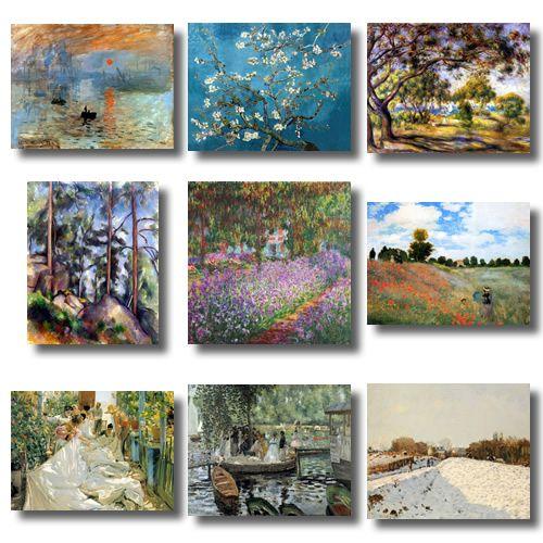 Pinturas del impresionismo occidental cuadros - Cuadros clasicos modernos ...