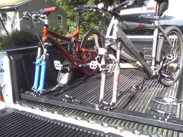 truck bed bike racks