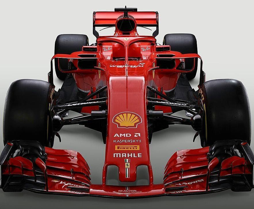 F1 2018 Ferrari Sf 71h Ferrari Formula Racing Ferrari F1