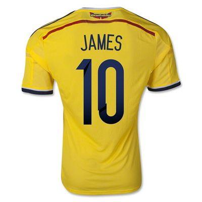 Camisetas James Colombia Copa Del Mundo 2014 Primera Http Www Activa Org 5 2b Camisetasbaratas Html Http Camiseta De Colombia Camisetas Camisetas De Fútbol