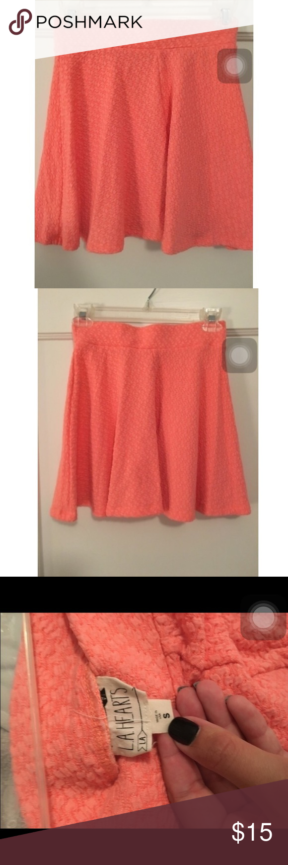 Pink Skater Skirt Pink skater skirt size small from PacSun PacSun Skirts Mini