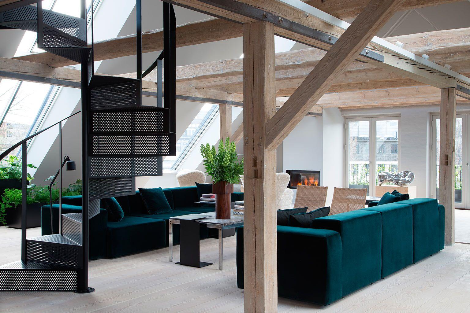 Un loft de designer au danemark planete deco a homes world the