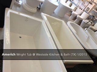Beau Americh Wright Tub @ Westside Kitchen U0026 Bath (TX)   2013