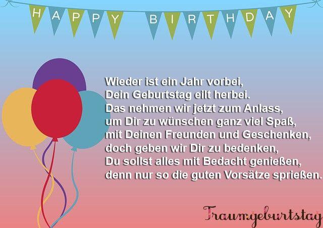 Kurze Geburtstagsgedichte Und Spruche Moderne Neue Und Klassiche