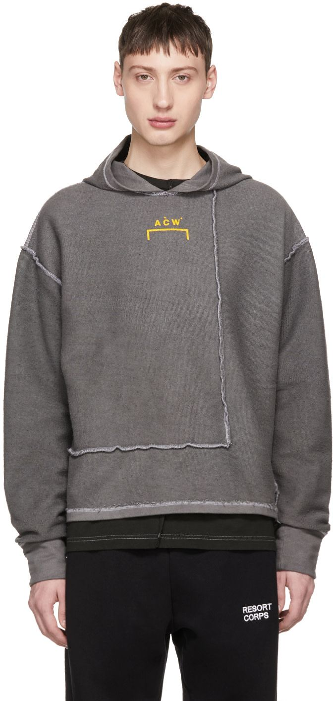 2f640c0f A-Cold-Wall* - Grey Signature Hoodie   服装 in 2019   A cold wall ...