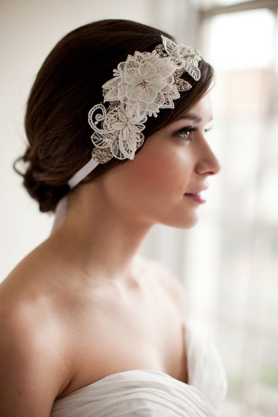 Fabulous 1000 Images About Veils Head Pieces And Wedding Accessories On Short Hairstyles For Black Women Fulllsitofus