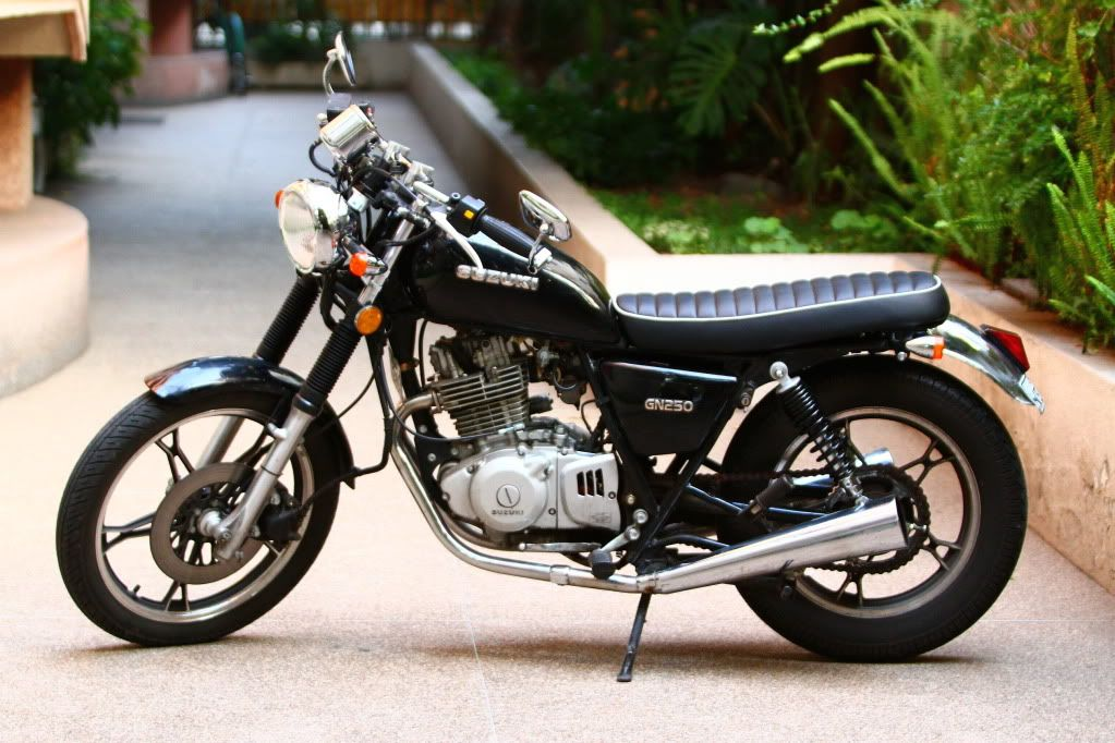 Suzuki GN250 Cafe Racer Motorcycle - NOW SOLD   in