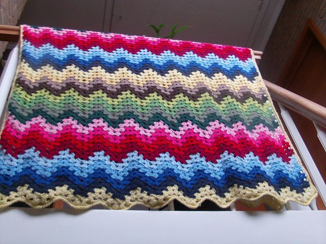 Ravelry: Project Gallery for Granny Ripple Afghan pattern by Project ...