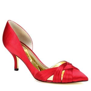 c3bcd277c8 Red low heel shoes by Nina $79 at ninashoes.com | Shoes - Just Shoes ...