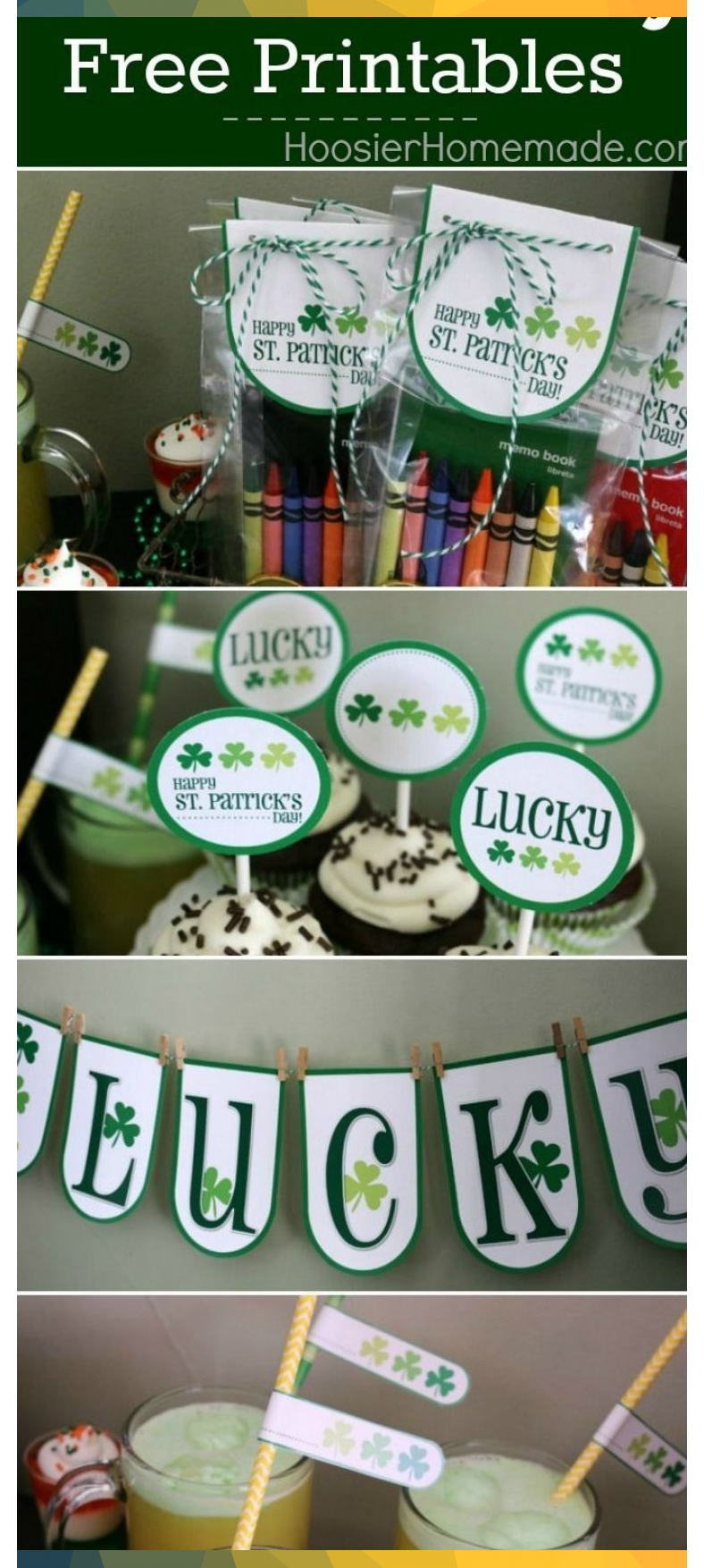St. Patrick's Day Printables - These FREE Printables Include a Lucky Banne ...#B..., #Banne #Day #Free #include #lucky #Patricks #printables #StPatricksDayactivities #StPatricksDayclover #StPatricksDaycrafts #StPatricksDaydecorations #StPatricksDayfood #StPatricksDayoutfit #StPatricksDayparty #StPatricksDayprintables #StPatricksDayquotes #StPatricksDaywallpaper