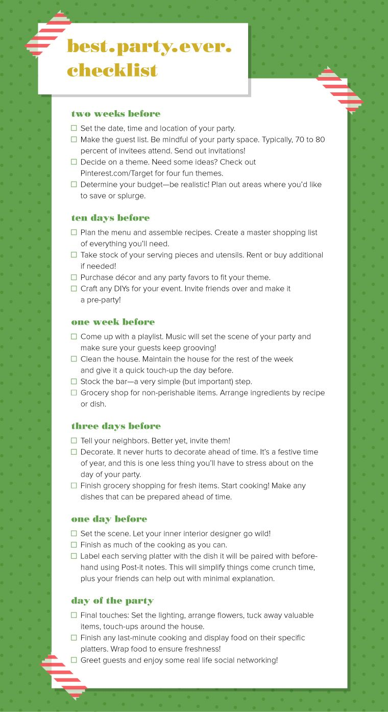 How to organize a holiday and how to make a menu for a childrens birthday
