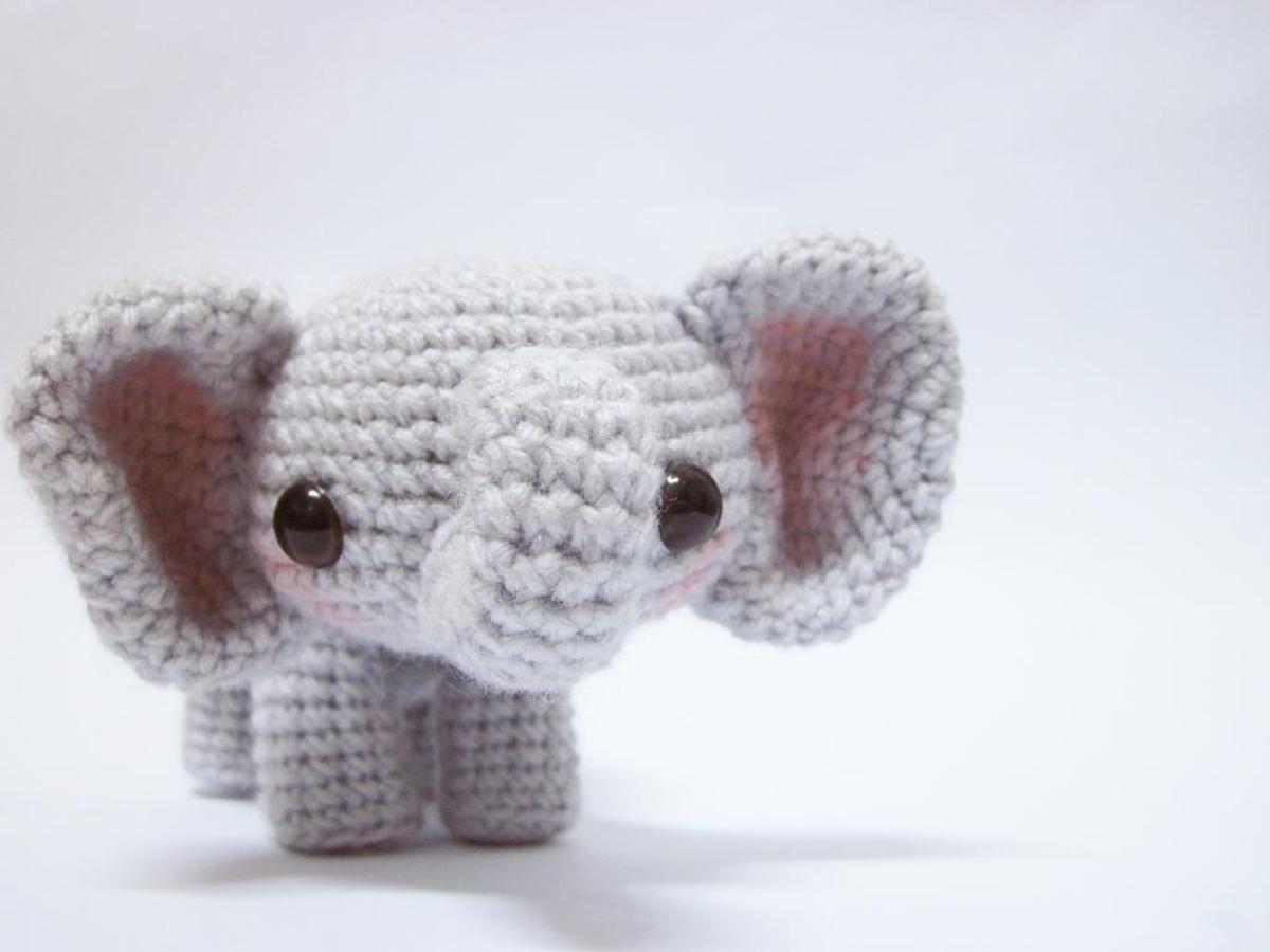 Perfect Elephant Crochet Pattern Free Sketch - Blanket Knitting ...