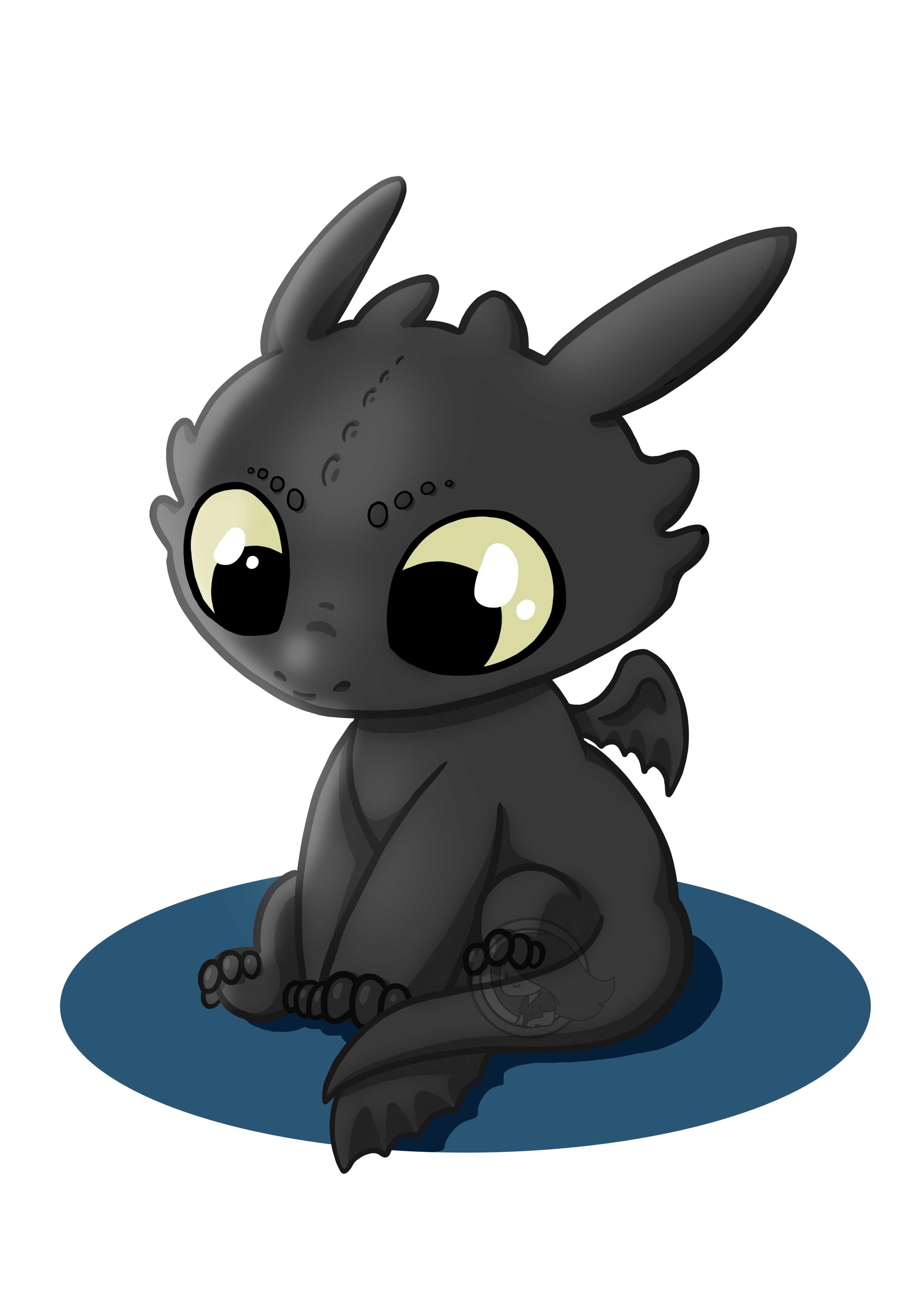Cute krokmou toothless im genes imprimibles en 2019 how train your dragon toothless - Dessin de bebe dragon ...