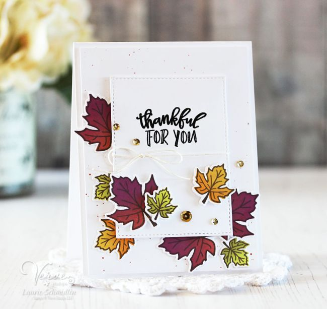 thankful for you by laurie schmidlin cards autumn fall