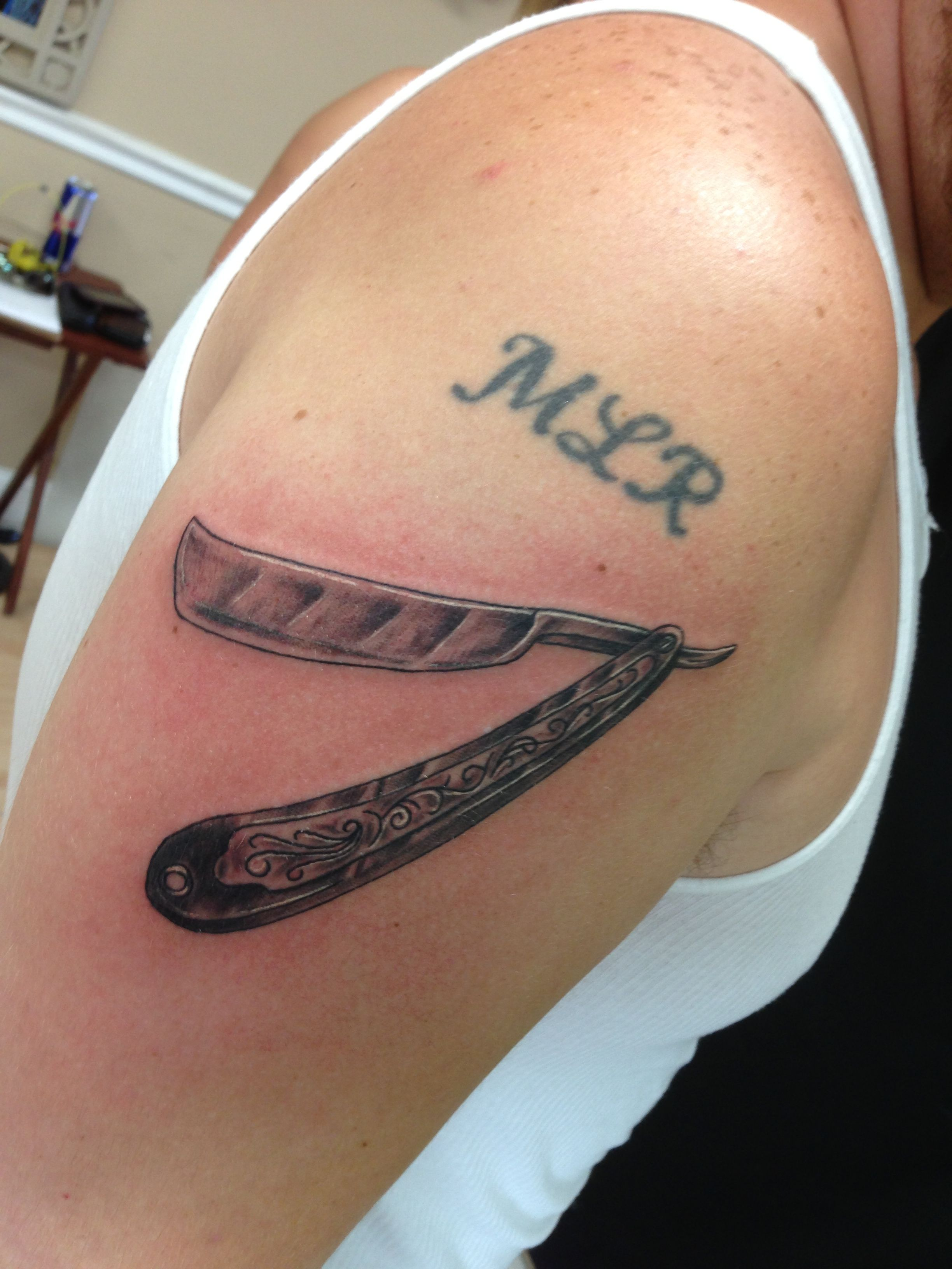Straight Razor Tattoo Meaning | www.pixshark.com - Images ...