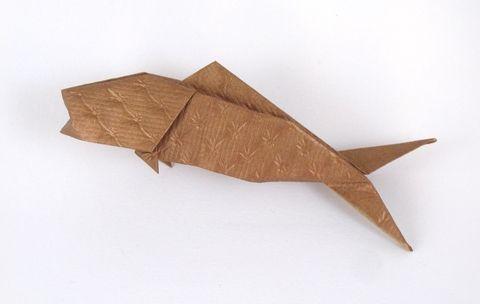 Origami Fish By Jun Maekawa Folded By Gilad Aharoni Origami