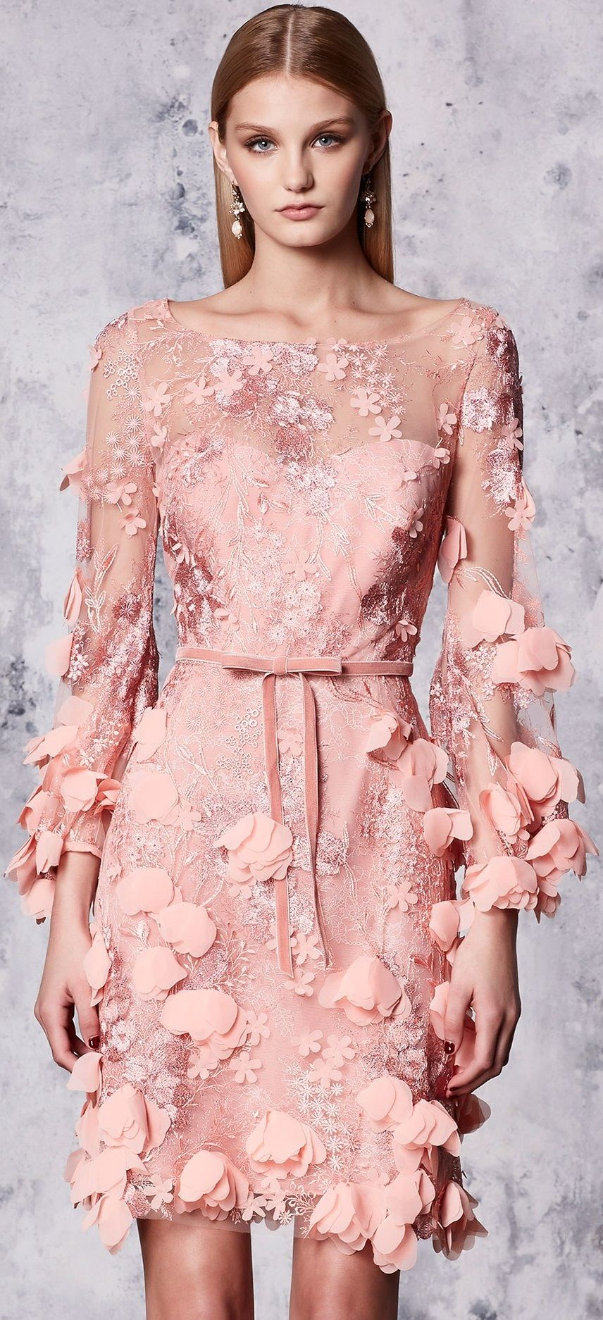 Marchesa Notte Resort \'18. | Fashion | Pinterest | Vestiditos