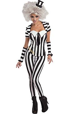 Womens Horror Costumes - Gothic Costumes for Women  sc 1 st  Pinterest & Adult Beetlejuice Costume - needs more green hair. and mold. and ...