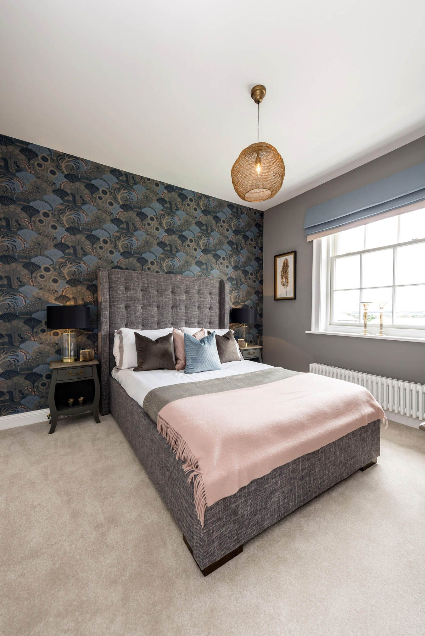 Best Blush Blue And Mink Colour Scheme For A Guest Bedroom 400 x 300