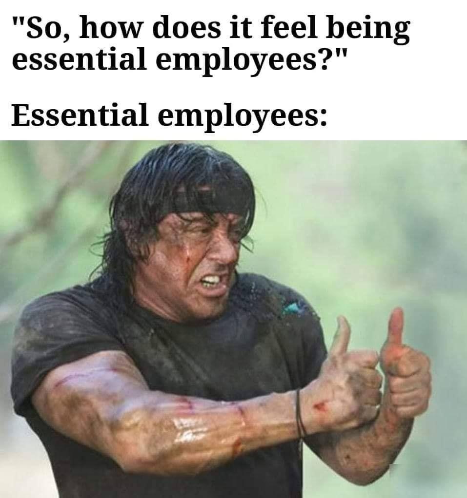 Essential Employee In 2020 Work Humor Work Memes Haha Funny
