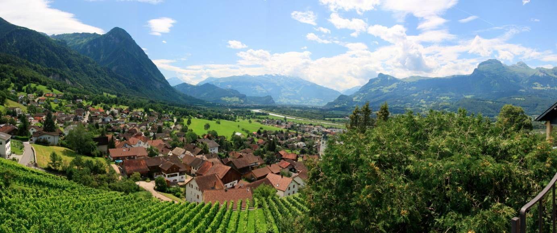 Veduta del Lichtenstein