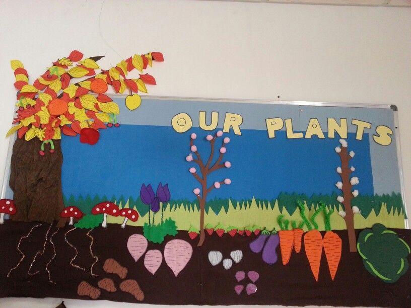Plant Theme Bulletin Board Preschool Activities Spring School Prek Classroom Plants theme board ideas for preschool