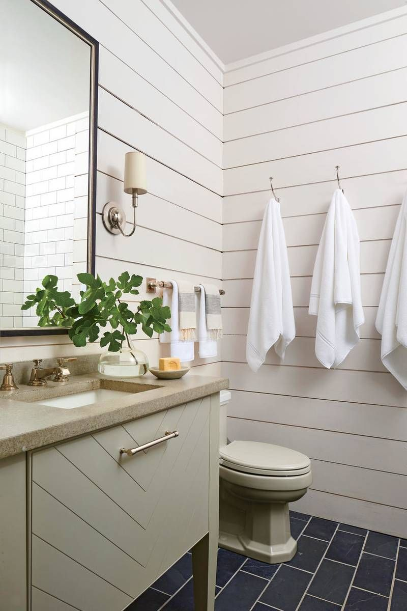 Our New Favorite 1 000 Square Foot Lake House In Alabama Lake House Bathroom Lake House Interior Lake House Kitchen