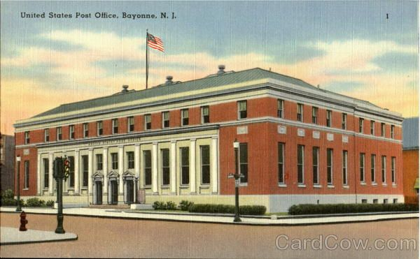 United States Post Office Bayonne Post Office United States