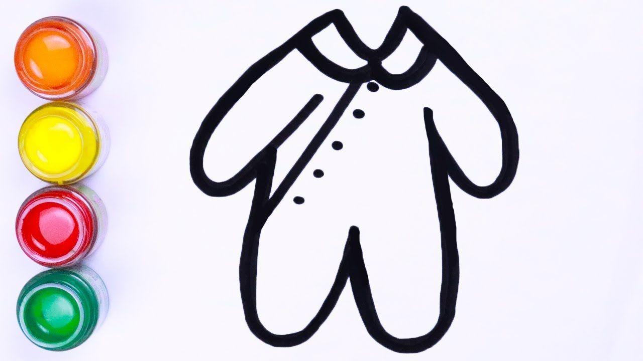 Menggambar Dan Mewarnai Gaun Lengkap Cara Menggambar Lukisan Warna Art Toy Retail Logos Drawings