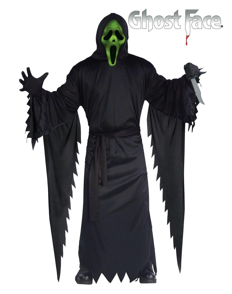 Scream Light-Up Ghostface Adult Costume – Spirit Halloween   Evil ...