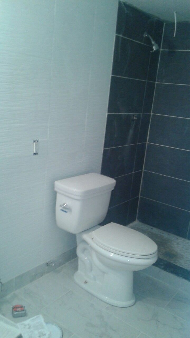 Ola White tile accent wall. | Bathroom Remodeling | Pinterest ...