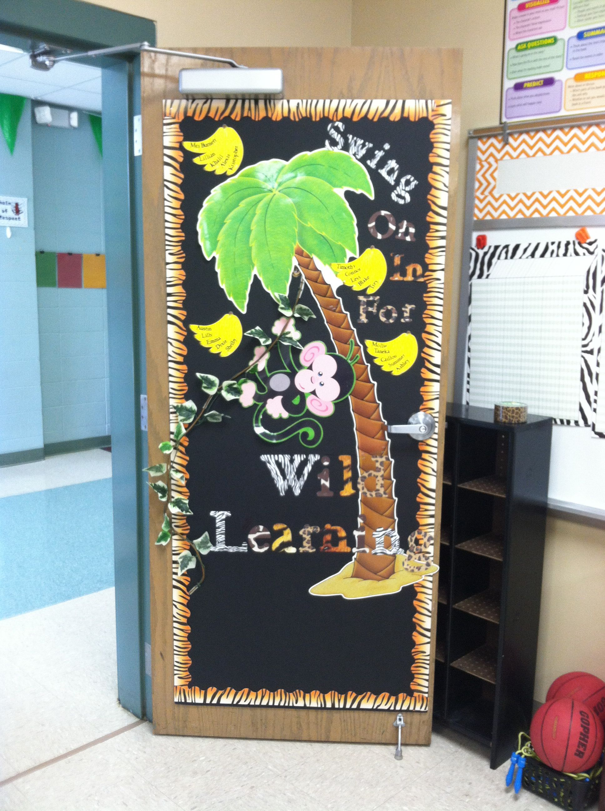 Wild About Learning Door