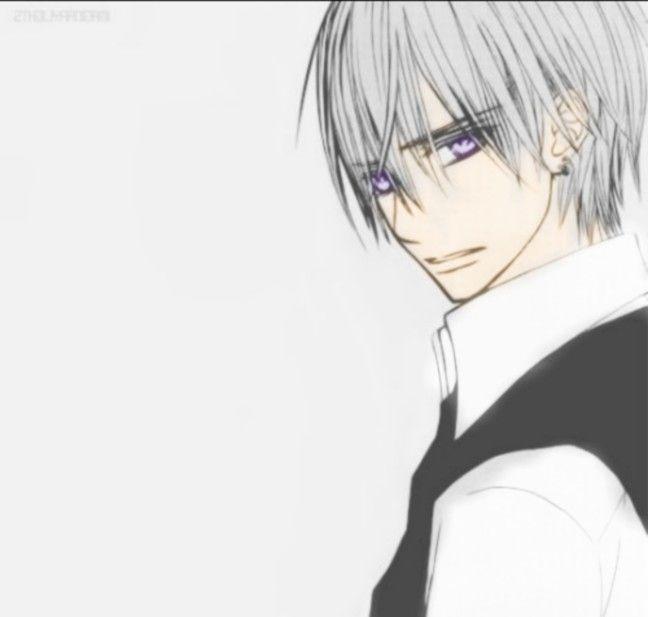 Kiryu Zero (Vampire Knight)   Zero ♡♡♡   Pinterest   Frases animo ...