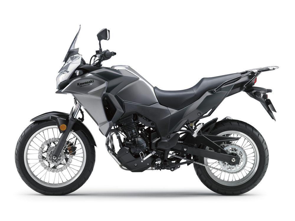 2017 Kawasaki Versys X 300 Studio Side View Motorcycle